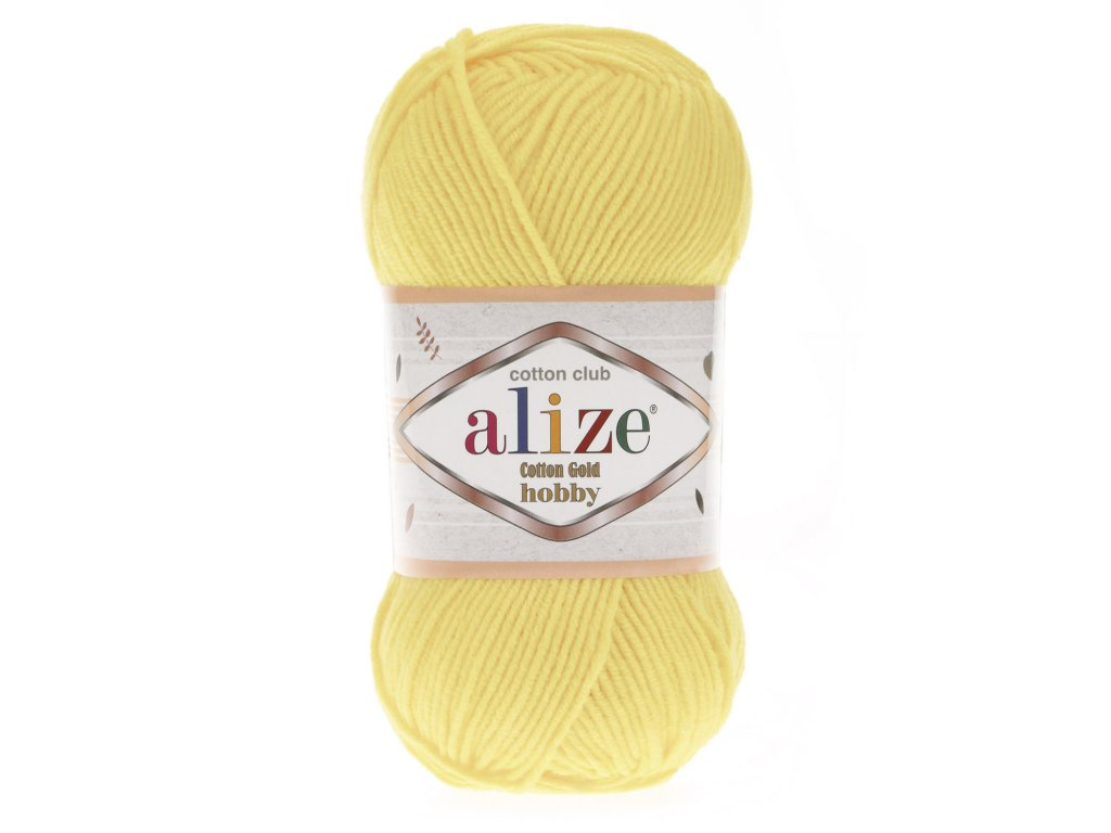 COTTON GOLD HOBBY 187 Light Yellow