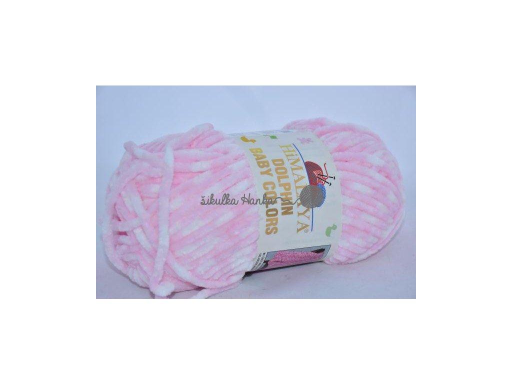 Dolphin baby colors 80424 růžovo-bílá