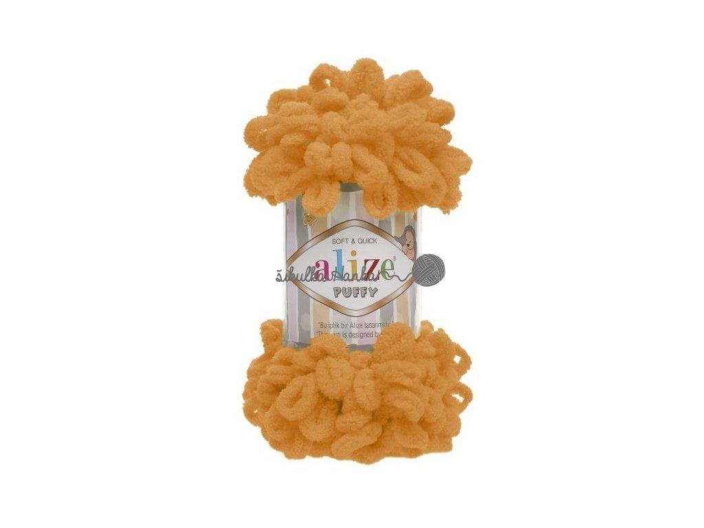 Puffy 336 oranžová