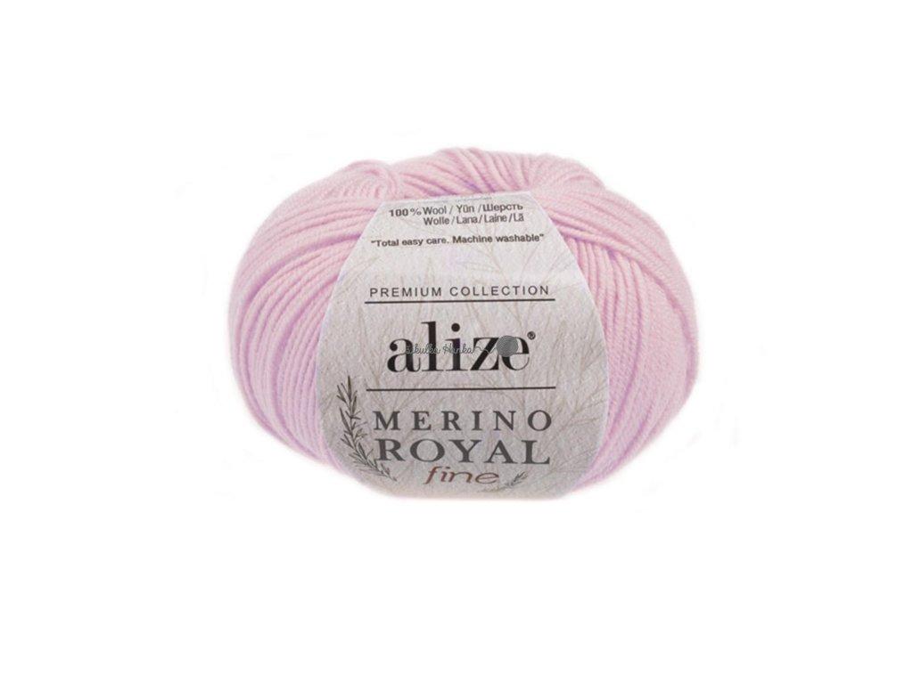 Merino royal FINE 31 sv.růžová
