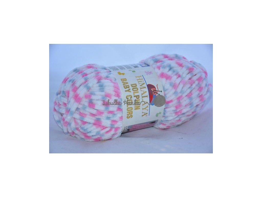 Dolphin baby colors 80418 růžovo-šedá