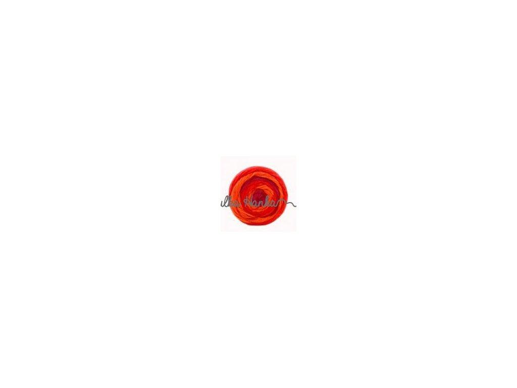 Sweet roll 09 jasná červená