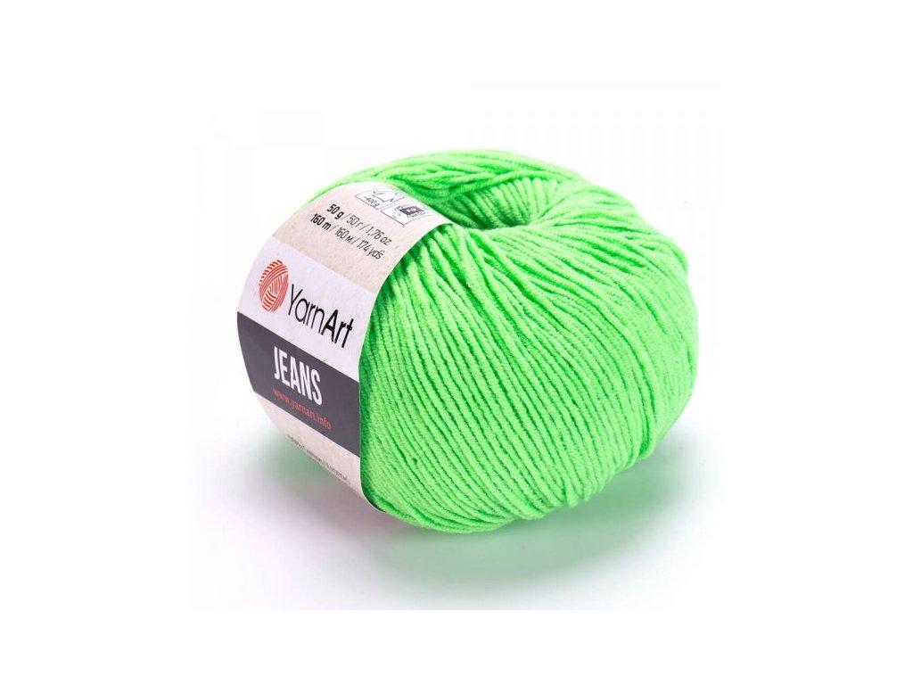 Gina 60 zelená neonová