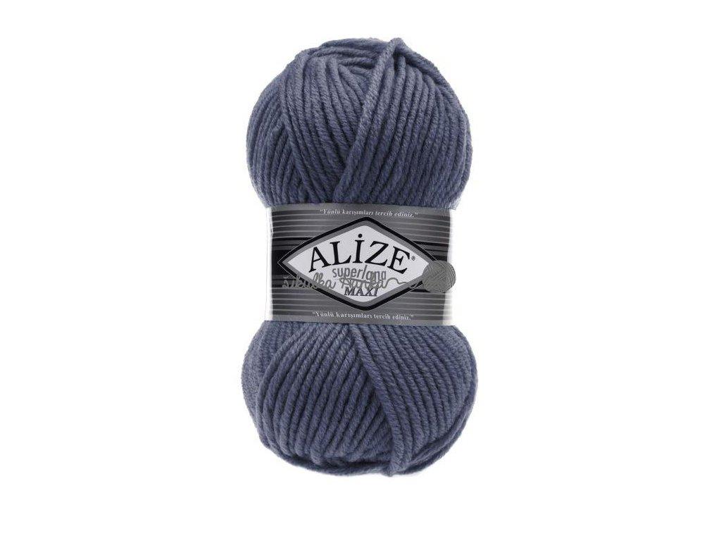 Superlana maxi 381 modro-šedá