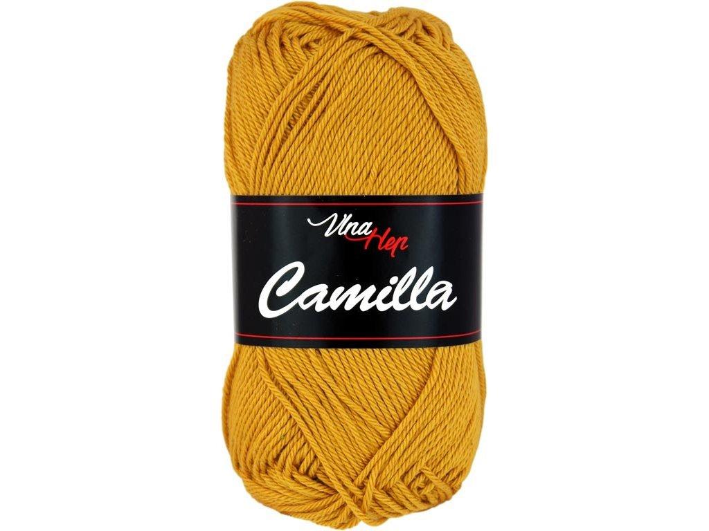Příze Camilla 8190 hořčicová
