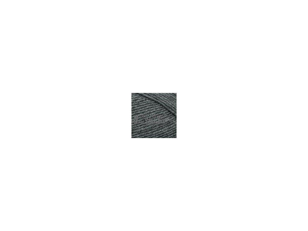 Příze Elit baby 790 tm.šedá melange