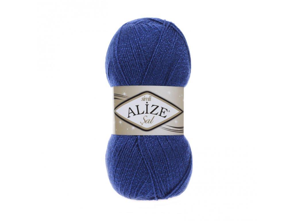 Příze Alize Sal simli 360 modrá