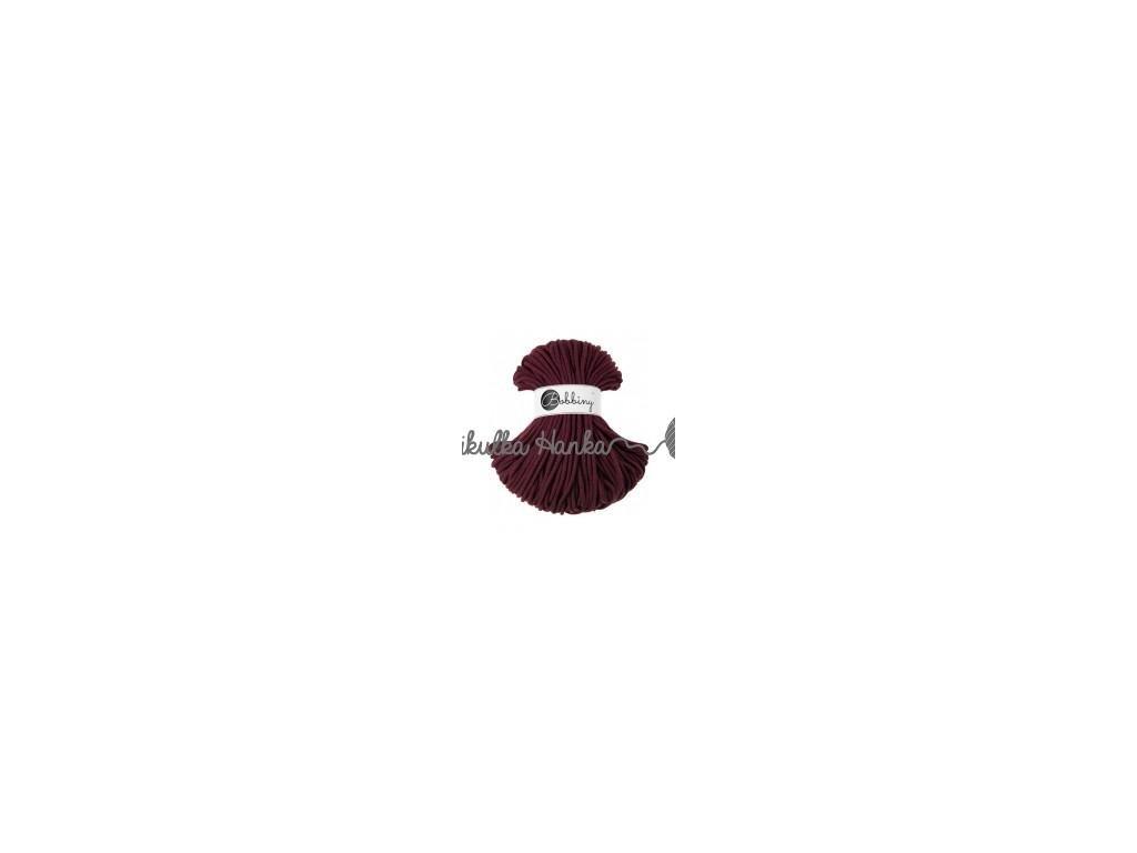 Šňůry bobbiny burgund