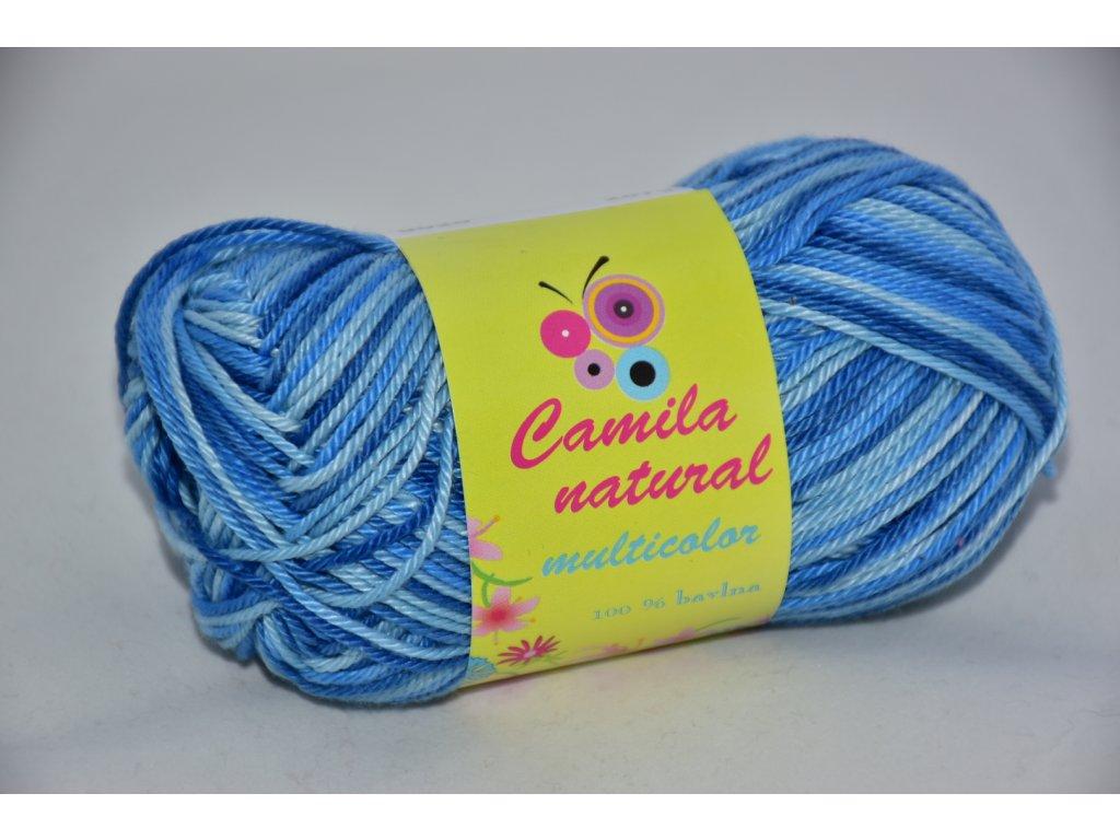 Camila natural multicolor 9020 modrá