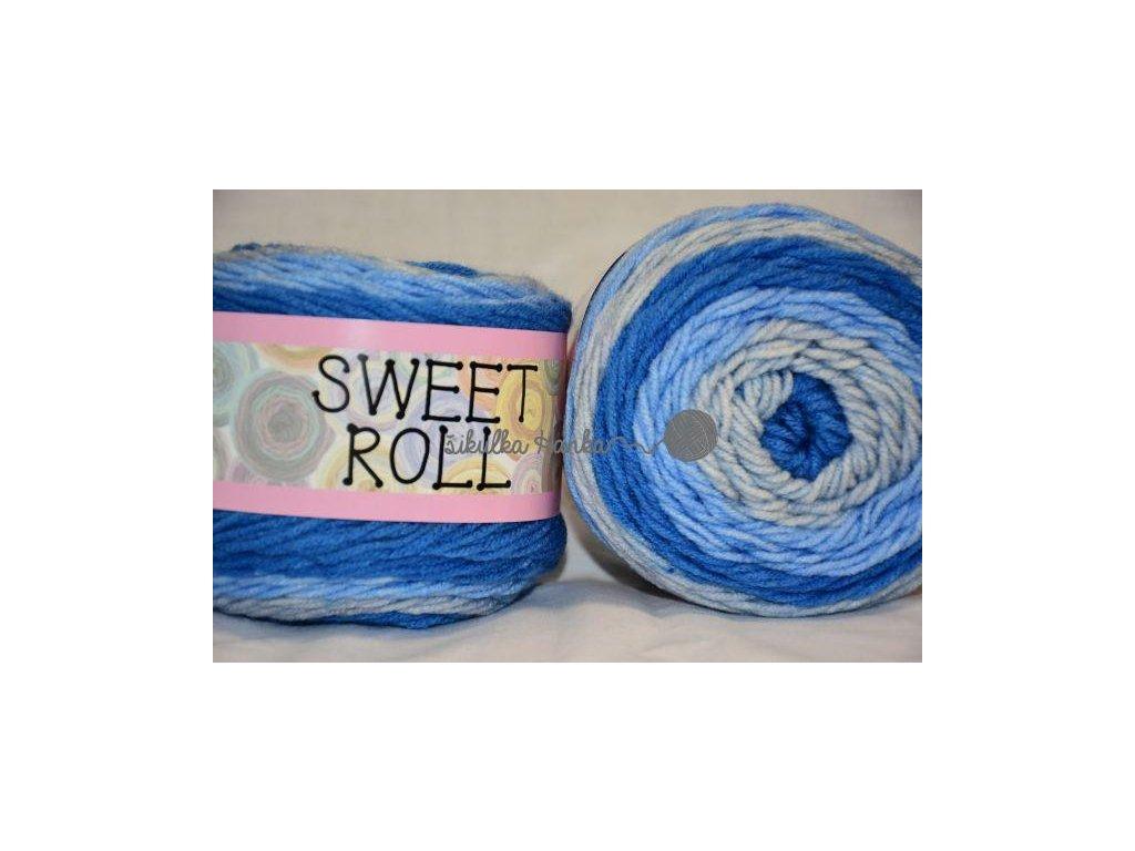 Sweet roll 20 modro-šedá