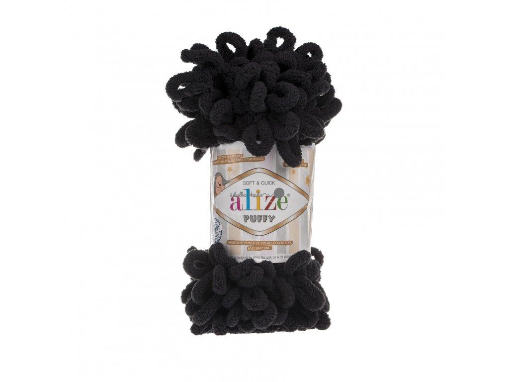 Puffy 60 černá