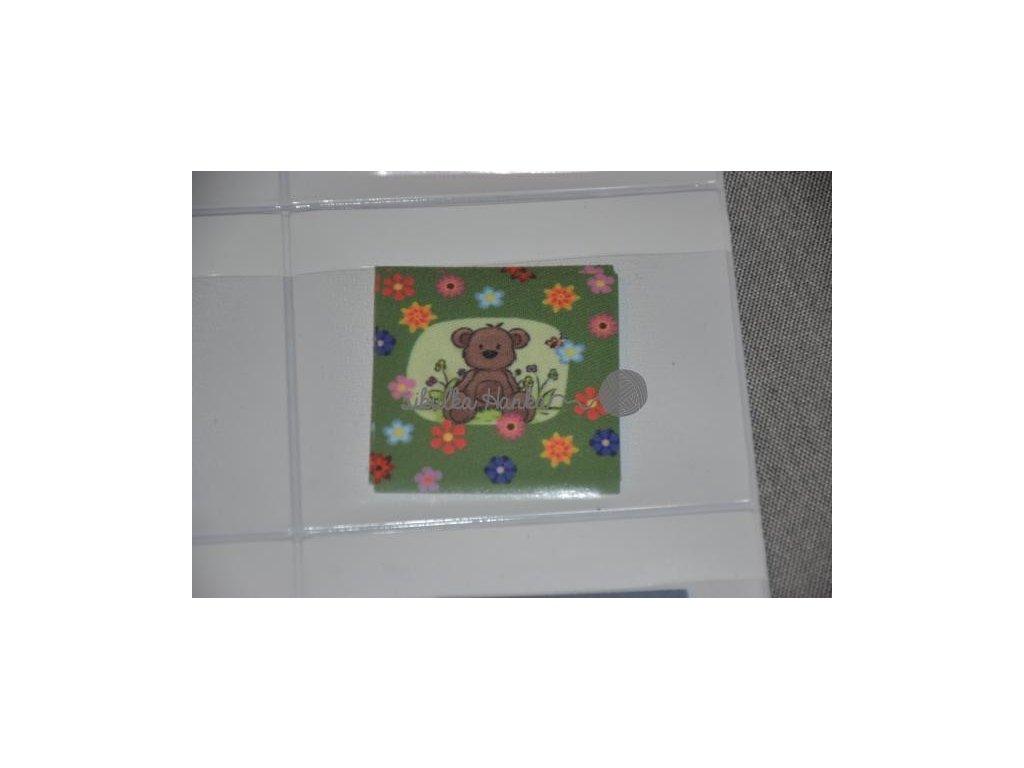 Nažehlovačka Méďa zelený (71950/4)
