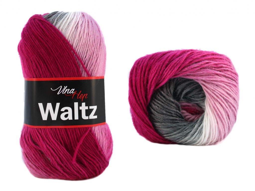 Waltz 5701 růžovo-bílo-černá