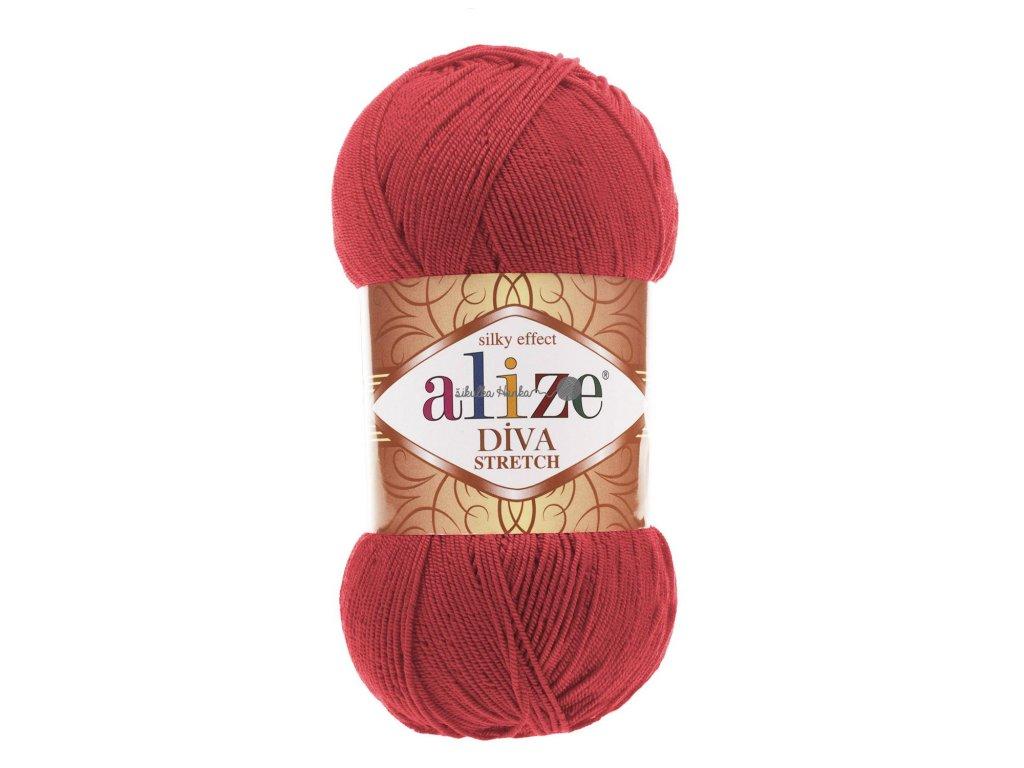 Alize Diva stretch 254 granátová
