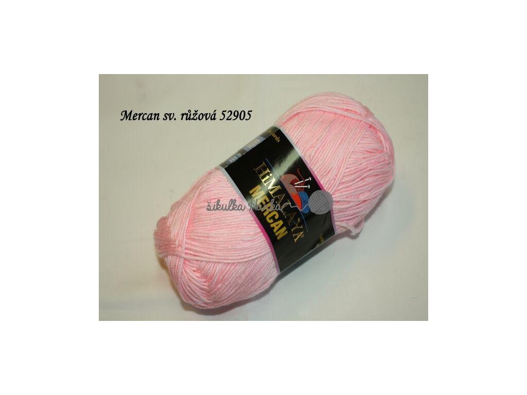 Mercan sv. růžová 52905
