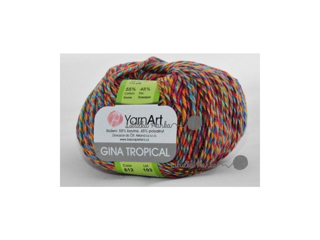 Gina Tropical 612 barevná