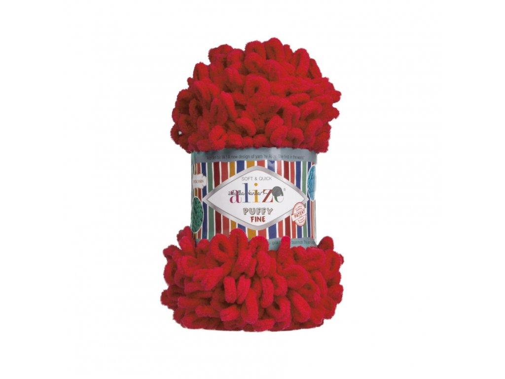 Puffy FINE 56 červená