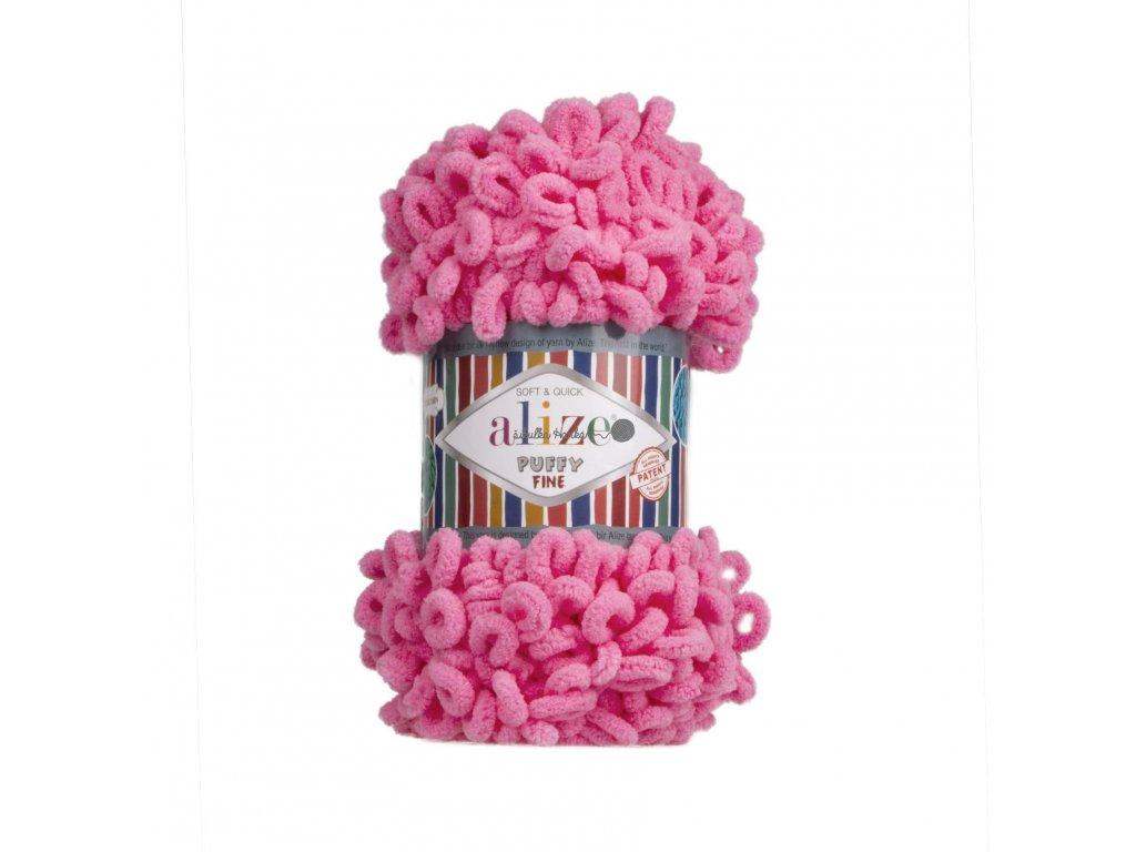 Puffy FINE 121 růžová barbie