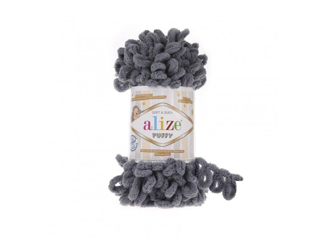 Puffy 87 tmavě šedá