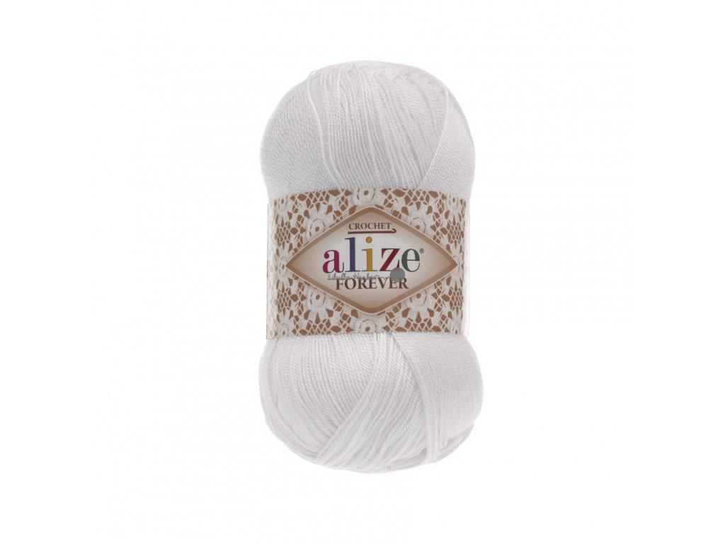 Alize Forever 55 bílá