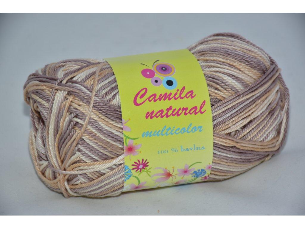 Camila natural multicolor 9109 béžovo-smetanová