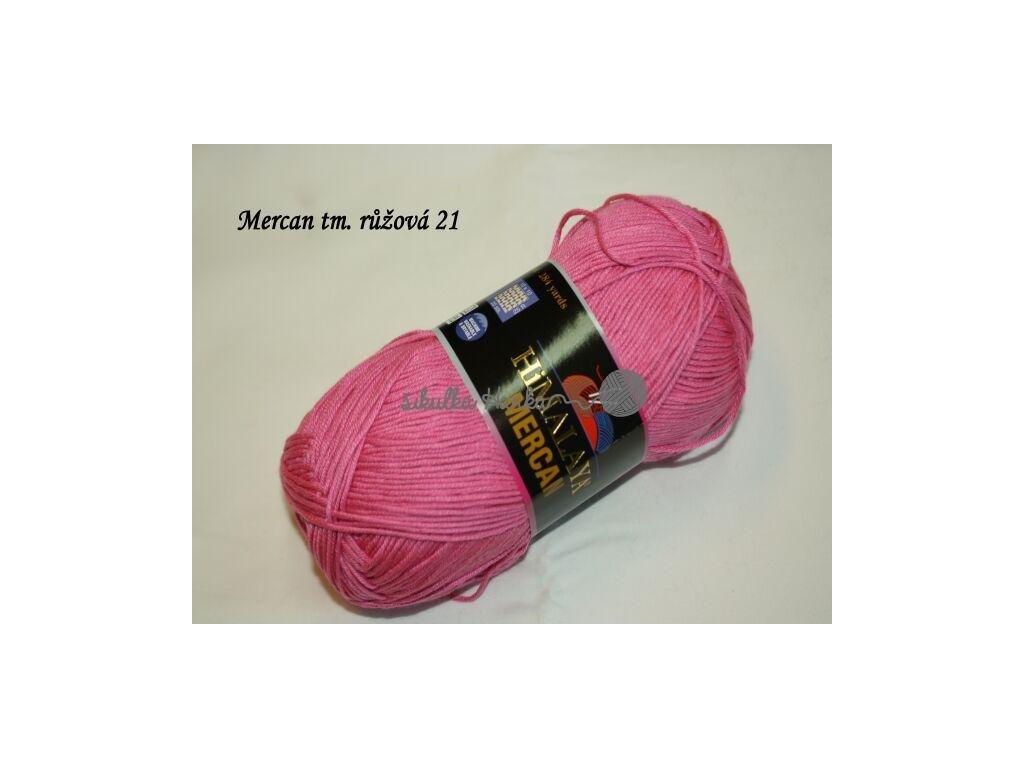 Mercan tm. růžová 21