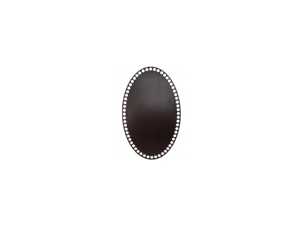 20103 90439 ng oval wenge 20x32cm