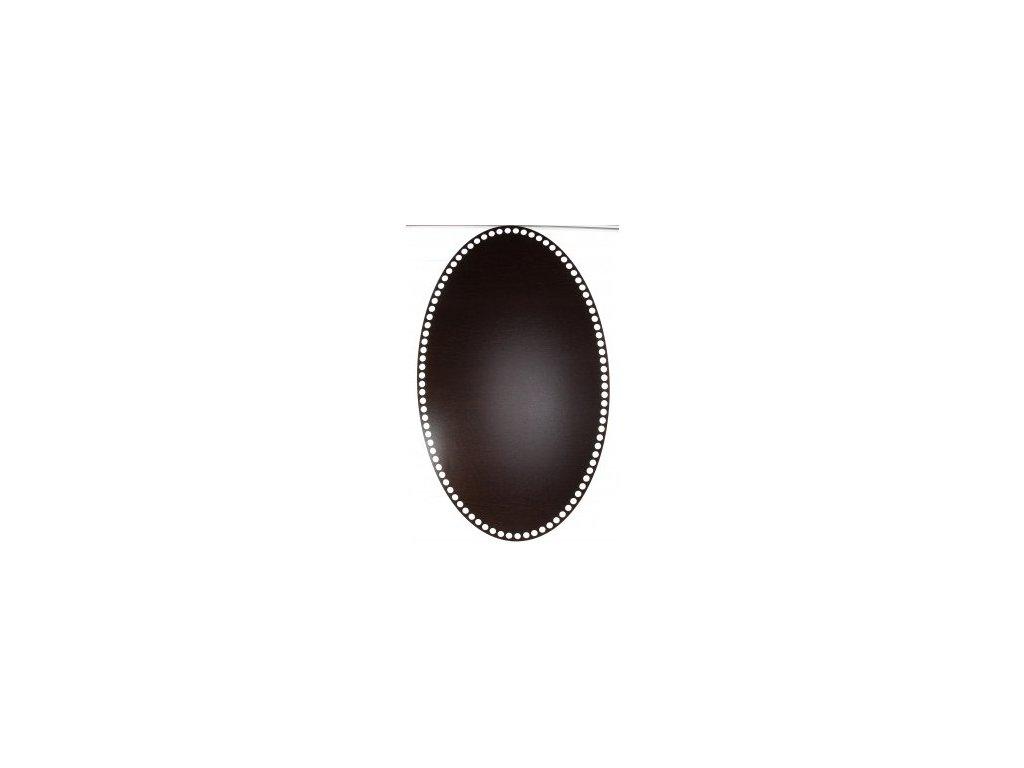 20097 90441 ng oval wenge 50x30cm