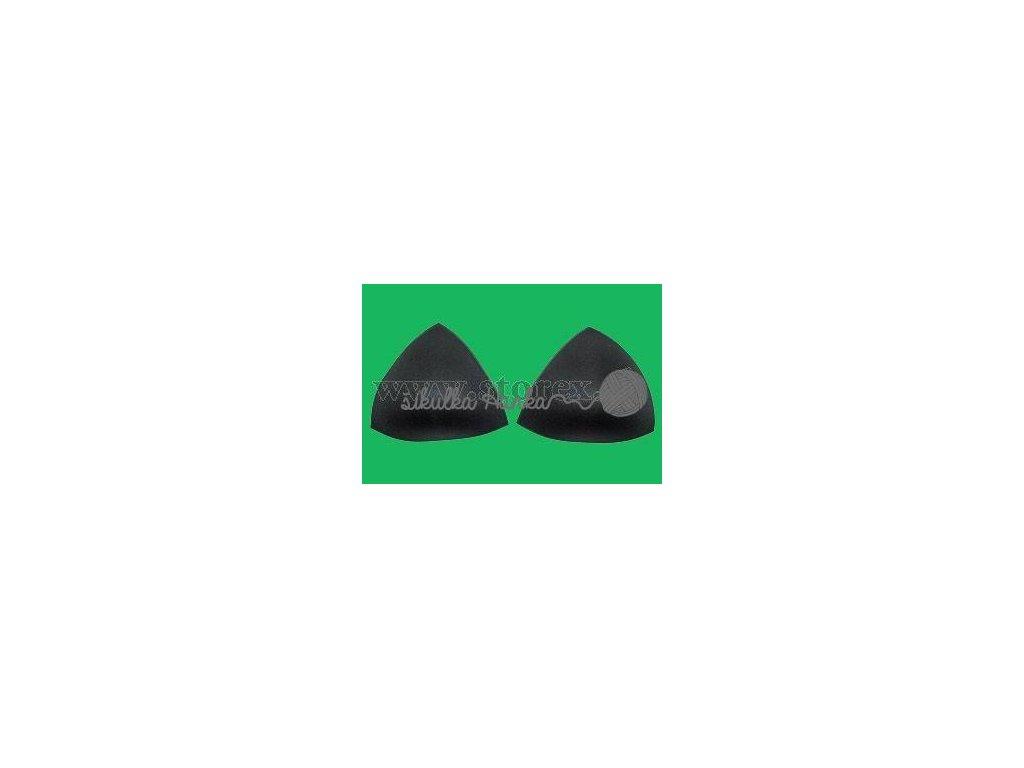 Podprsenkové košíčky černá vel. 80