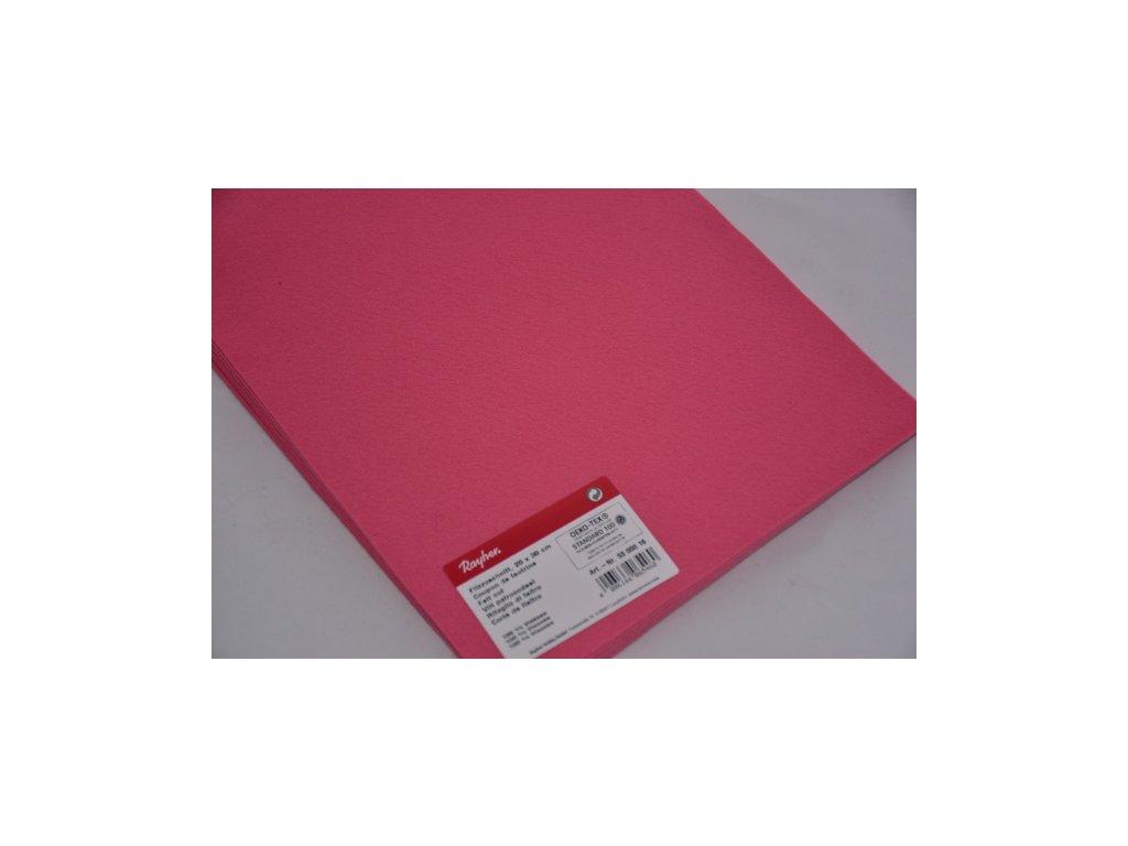 Filc růžová 5300016