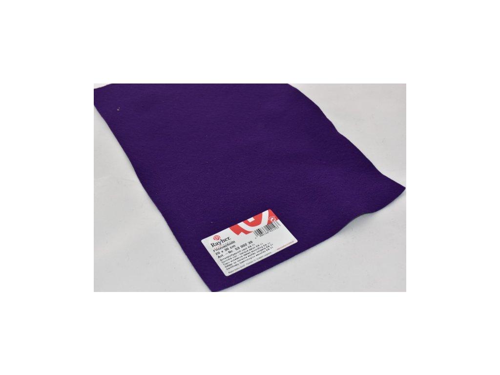 Filc tmavě fialová 5300039