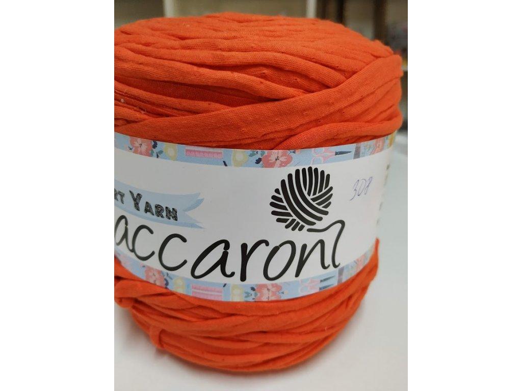 T-Shirt 308 oranžovo-hnědá