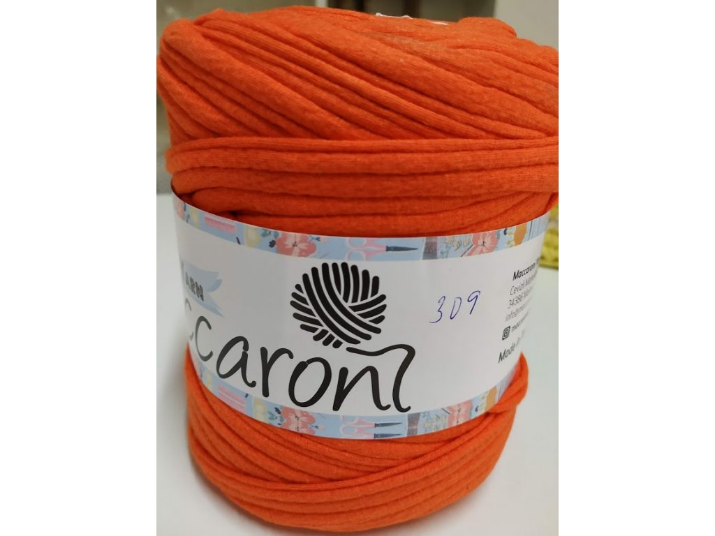 T-Shirt 309 oranžovo-hnědá