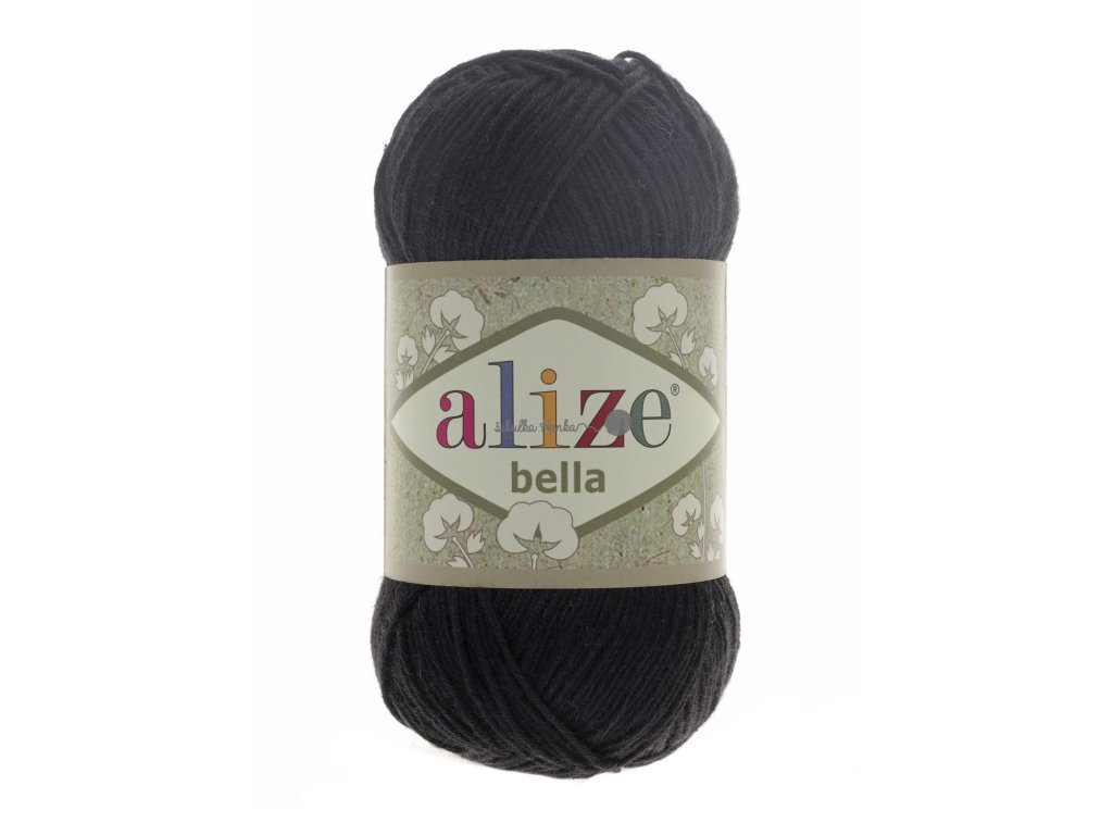 Příze Alize Bella 60 černá