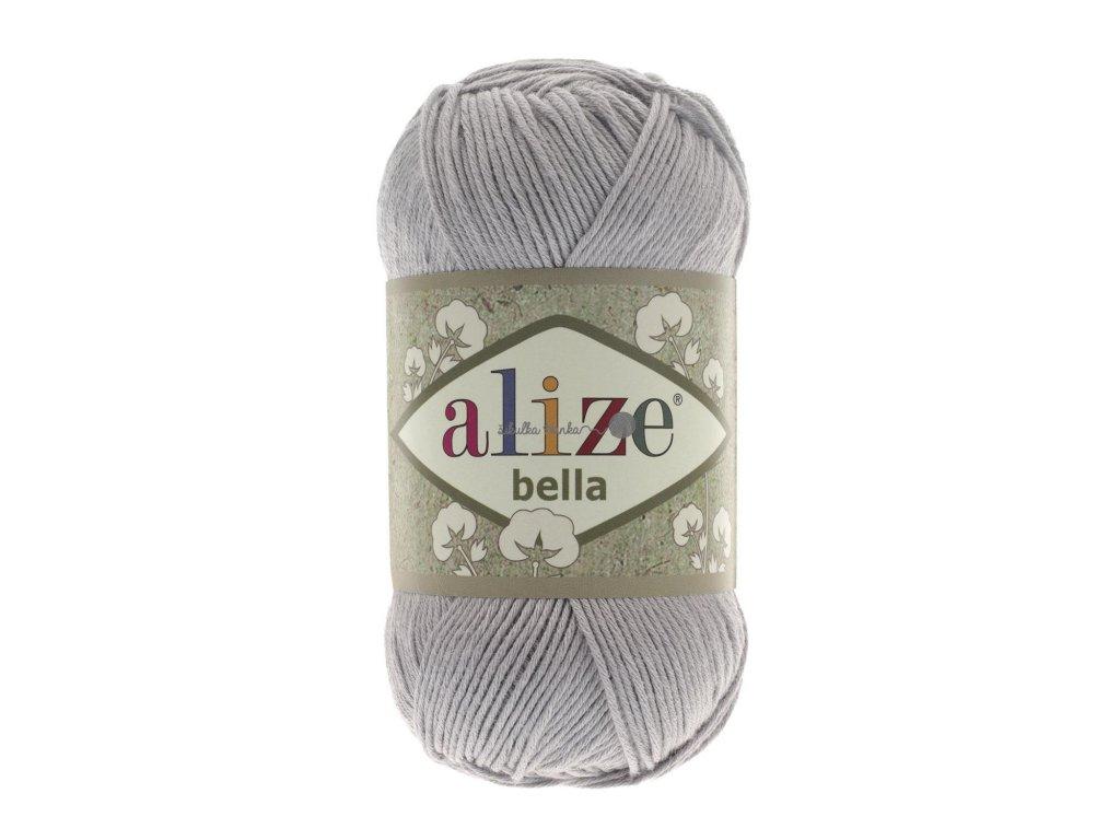 Příze Alize Bella 21 šedá