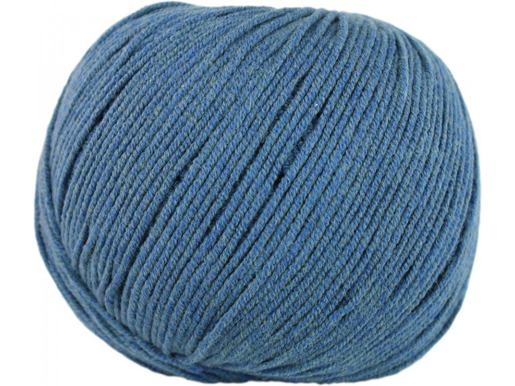 Jeans - Vlna Hep 8114 tm.modrá š. 1977