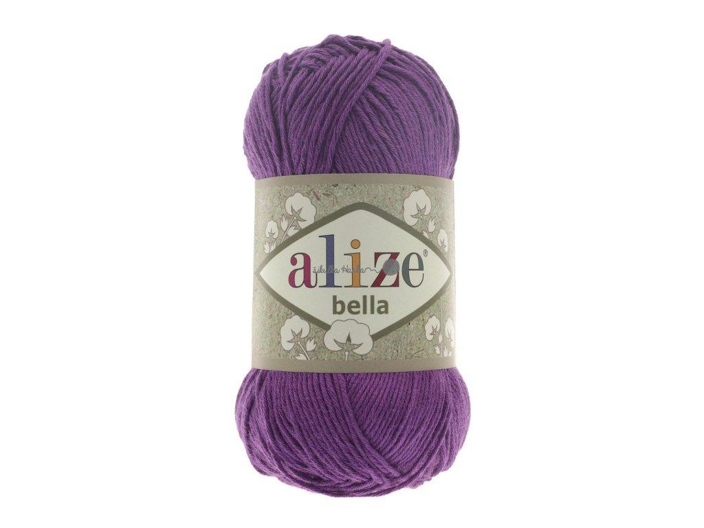 Příze Alize Bella 45 tm. fialová