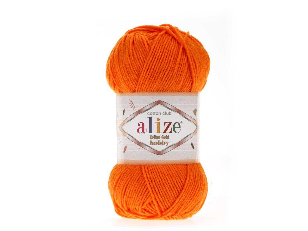 Cotton gold hobby 37 oranžová