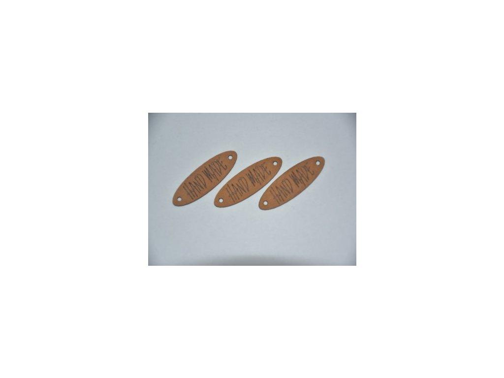 20787 dekoracni stitek z pratelneho papiru hand made