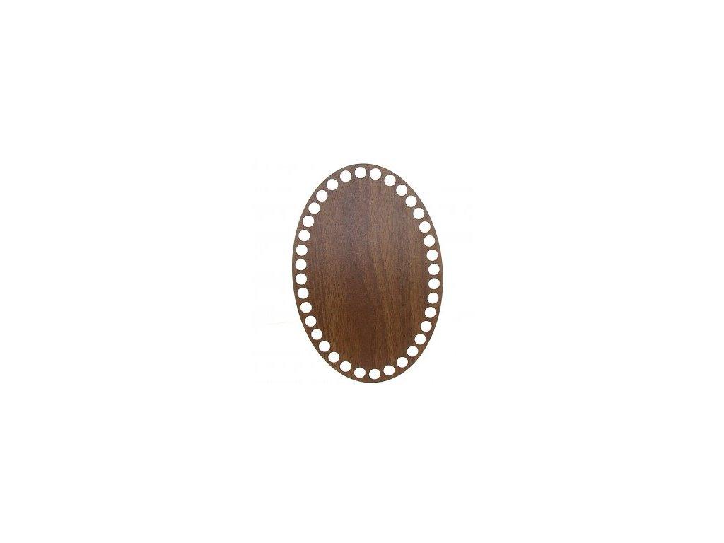 21801 90447 ng oval walnut 20x13 5cm