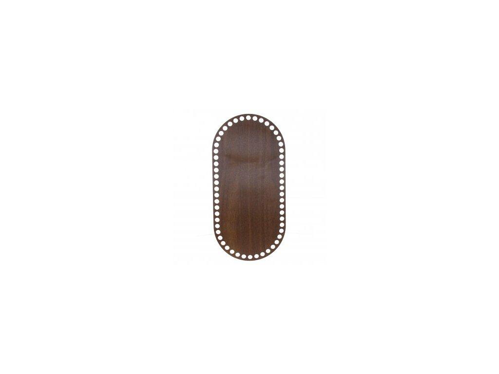 21798 90449 ng oval walnut 14x28 5cm
