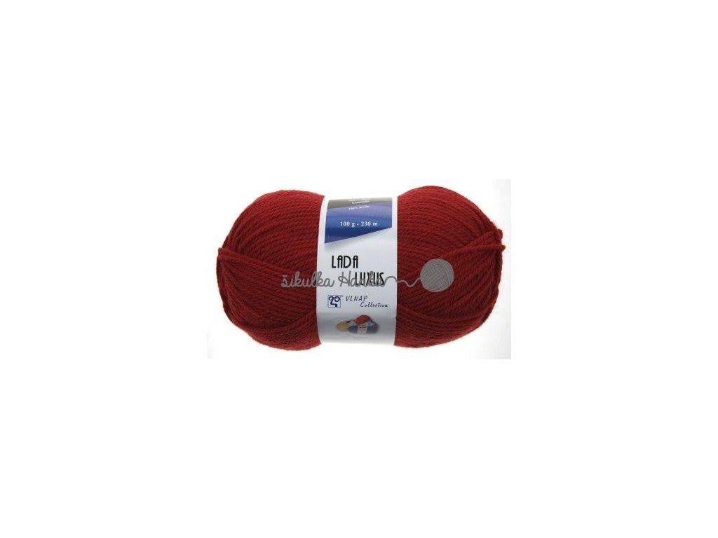 Lada luxus 52082 tm. červená