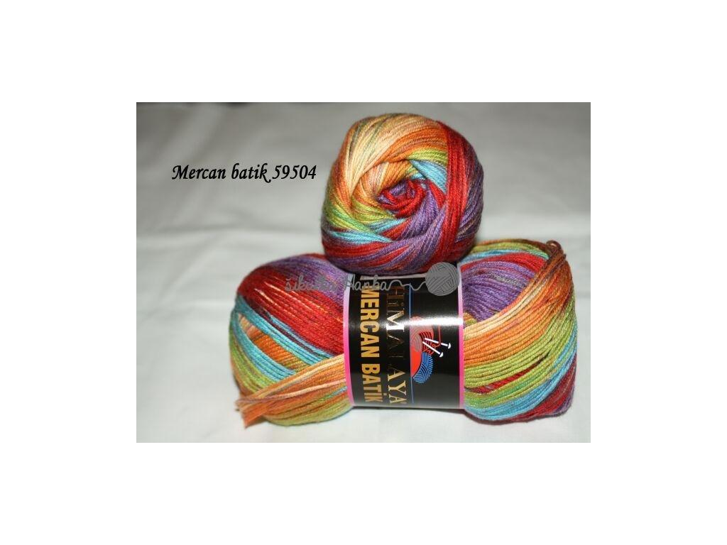 Mercan batik 59504 duhová