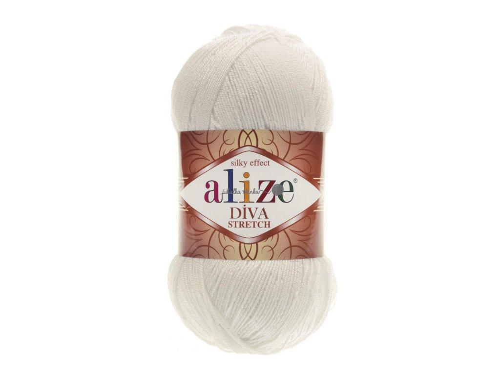 Alize Diva stretch 62 smetanová
