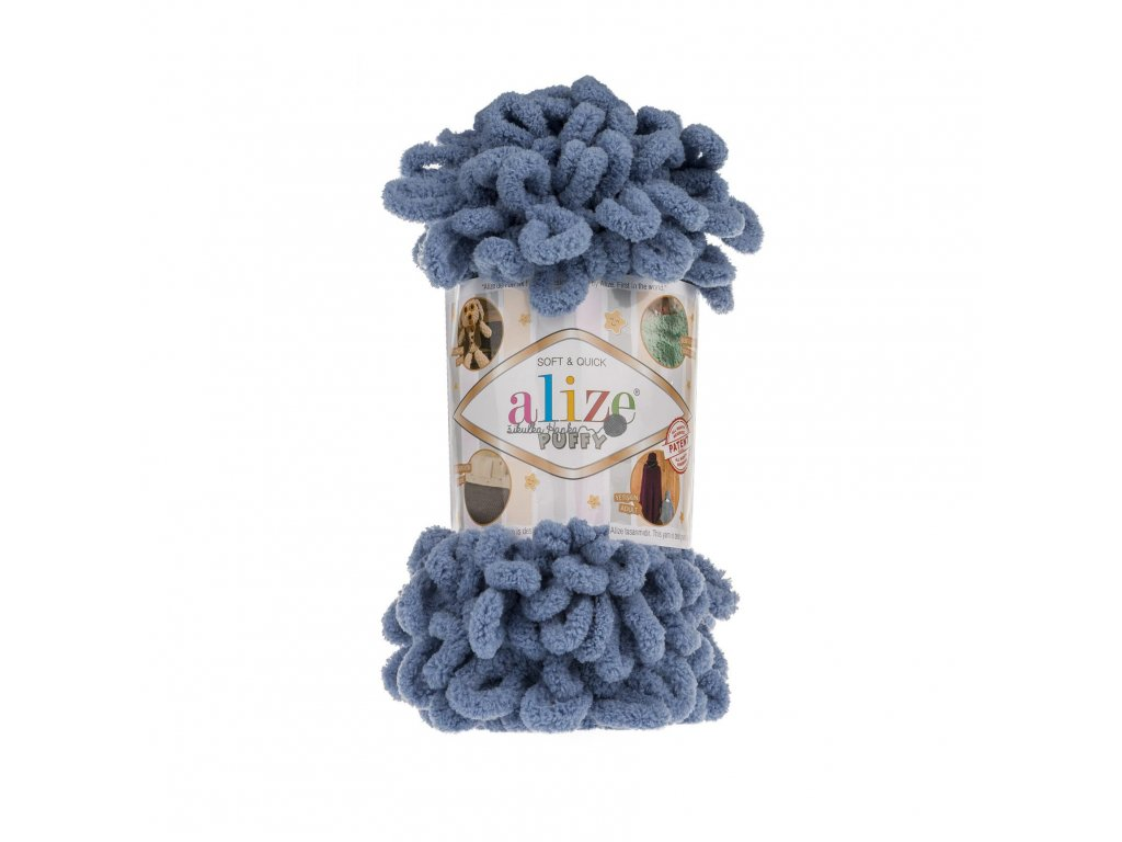 Puffy 374 modro-šedá š. N