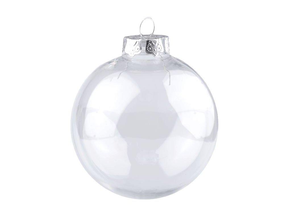 Plastová koule k dozdobení 8cm