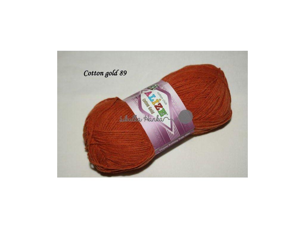 Příze Alize Cotton gold 89