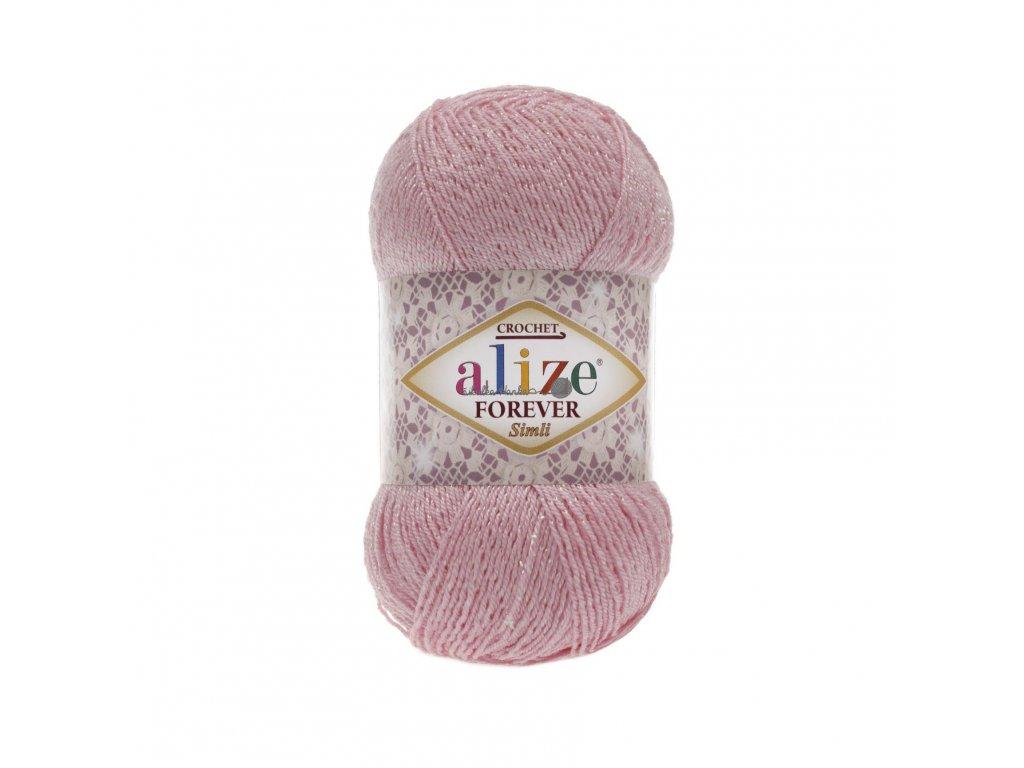Alize Forever simli 32 sv.růžová