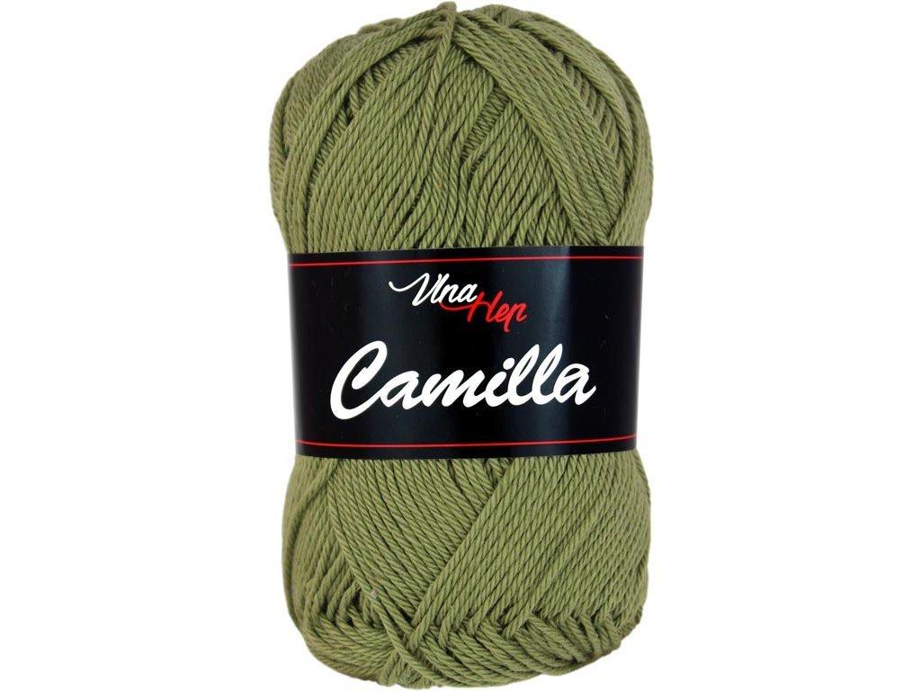 Příze Camilla 8168 khaki