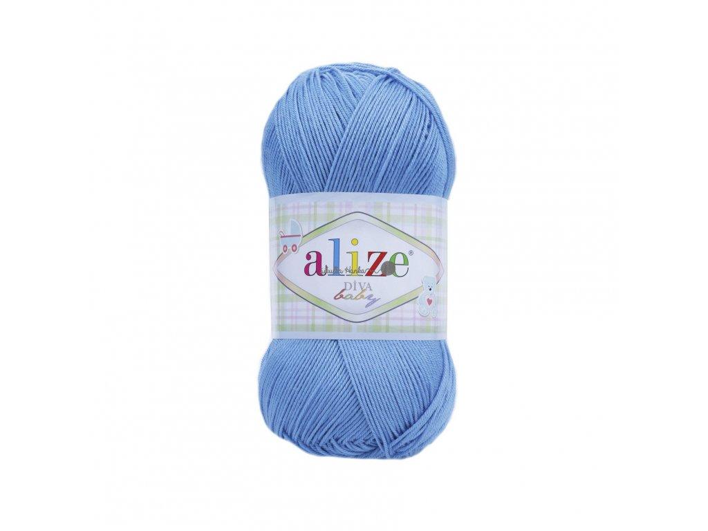 Alize Diva baby 24 modrá